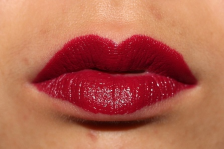 Beetroot worn on lips