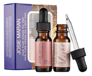 Josie Maran 100% Pure Argan Oil & 100% Pure Argan Oil Light Duo, $22 CAD