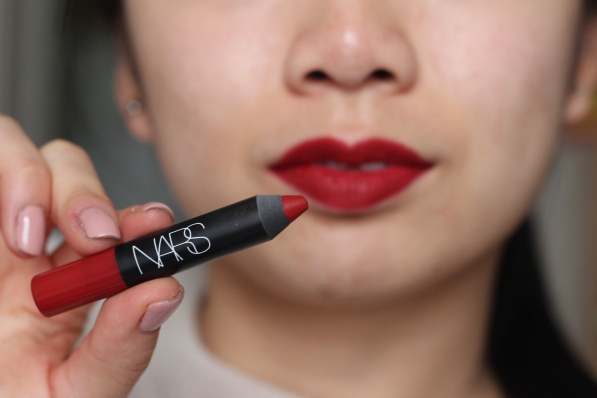 NARS Velvet Matte Lip Pencil in 'Cruella'
