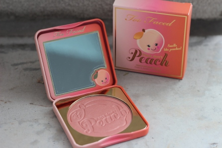 Too Faced Papa Don't Peach Blush, $38 CAD/$30 USD
