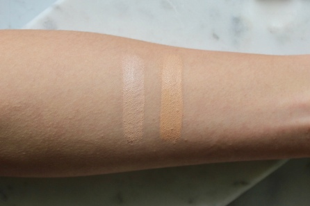CT Magic Away Concealer Swatches (L-R): 3 Fair, 5 Medium